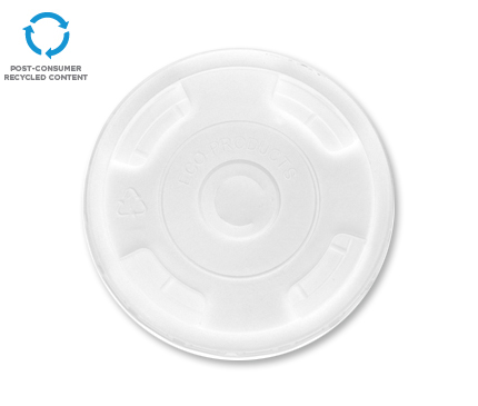 BlueStripe® Recycled Content Cold Cup Lid